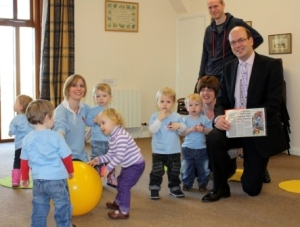 Mark Reckless at Talking Tots