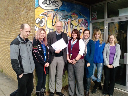 Mark Reckless MP with Medway Magic Volunteers