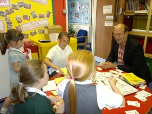Mark Reckless meets pupils at Cliffe Woods Primary School