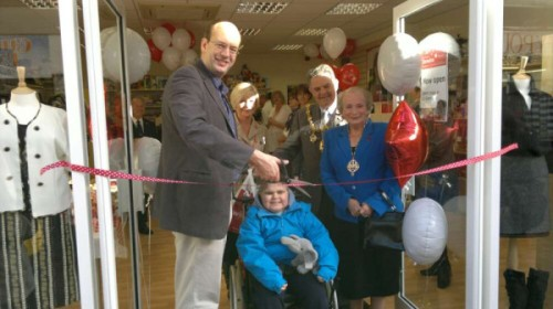 Opening Demelza Hospice shop in Chatham