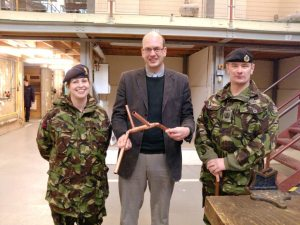 Mark Reckless visits RSME (Brompton)
