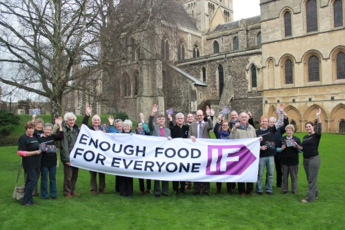 Launch of IF campaign at Rochester Cathedral 1
