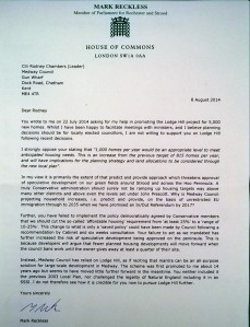 Letter to Rodney Chambers - Click here to read