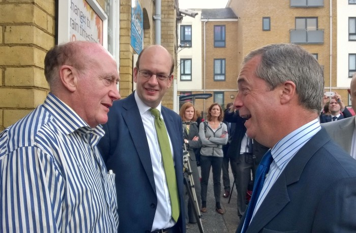 Jim Old (owner of Computer Cabs) meets Mark Reckless and UKIP leader Nigel Farage to discuss Medway minicab fiasco.